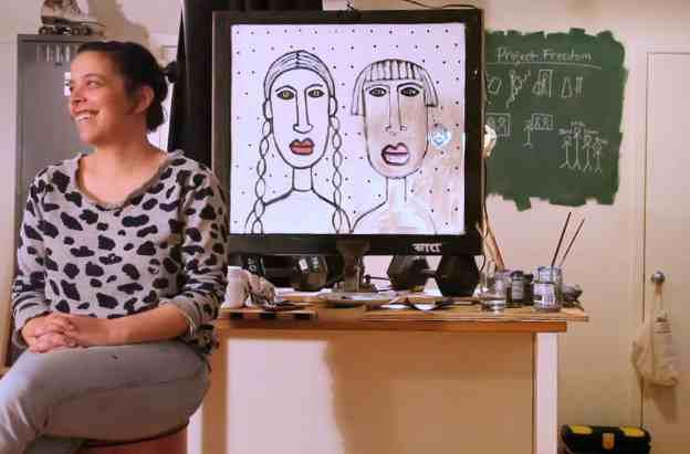 Sara Erenthal Footsteps Project Freedom video still