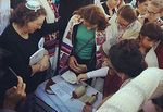 Women of the Wall Torah reading in Women's Section of the Kotel 10-24-2014