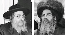 Rabbis Aharon and Zalman Teitelbaum