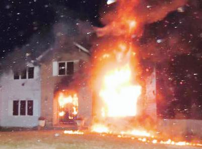 Ramapo house Hanukkah fire 12-19-2014