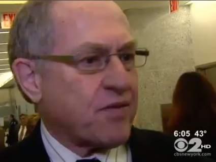 Alan Dershowitz at Weberman trial Brooklyn 11-30-2012 CBS 2