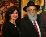 Rabbi Sholom DovBer Lipskar and his wife Chani