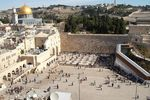 Kotel From Aish HaTorah-area roof