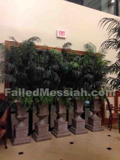 Ateres Charna Wedding Hall, Spring Valley 1-18-2015 emergency exit blocked