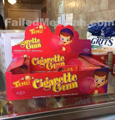 Eli's Bagels Monsey kosher gum cigarettes marketed at kids 4-2015 closeup
