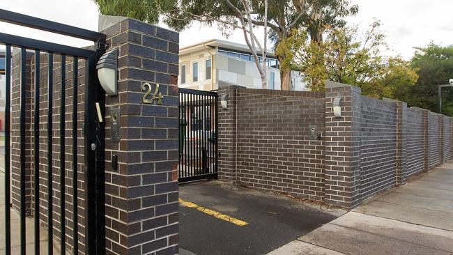 Gate to Adass school in Melbourne