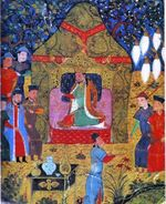Genghis_khan_enthronement_in_1206