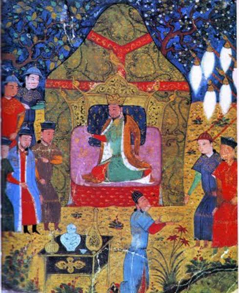 Genghis_khan_enthronement_in_1206