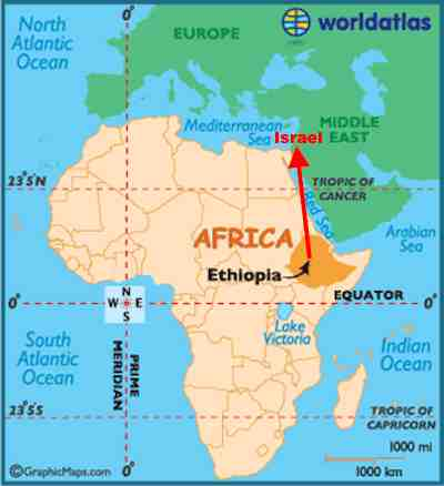 Secret Israeli 'Rescue' From Ethiopia Revealed - FailedMessiah.com