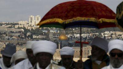 Kessim at Sigd in Jerusalem 11-11-2015
