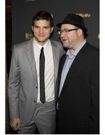 Ashton Kutcher and Rabbi Yehuda Berg