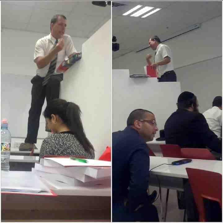 Gender segregation at Ono Academic College Israel 11-2015