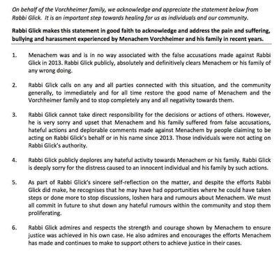 Chabad Yeshivah Centre Melbourne 12-3-2015 community_email Vorschheimer Glick