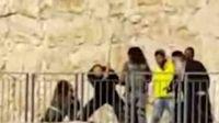 Israeli Jew beats incapacitated wounded Palestinian terrorist with iron bar Jerusalem 12-23-2015