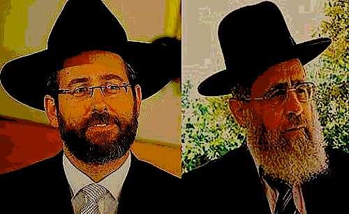 Chief Rabbis Lau and Yosef