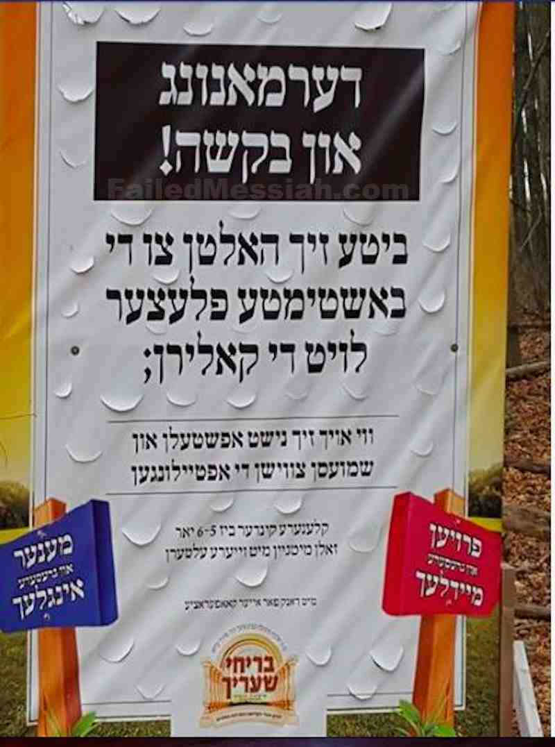 Satmar illegally gender segregated park 1-10-2016 2