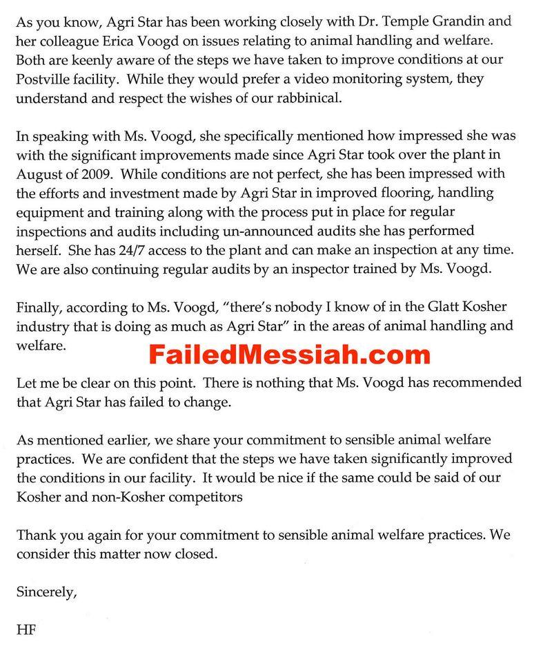 Agri Star Hershey Friedman to Philip Schein PETA September 28 2010_Page_2