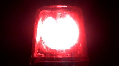 Red-flashing-emergency-light