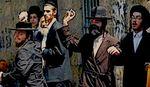 Haredim throw stones at police Mea Shearim July 2011 (2)