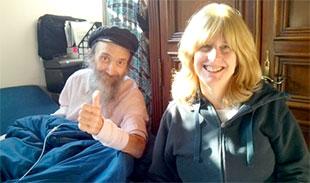 Rabbi Ben-Tzion Welton and his wife, Sharona