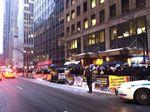 Satmar anti-Israel demonstration NYC 3-3-2015