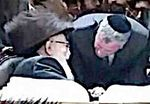 Bill de Blasio and the Skvere Rebbe David Twersky 2-23-2015