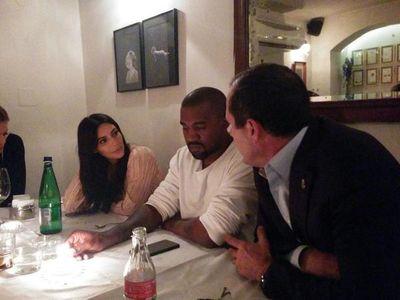 Kim Kardashian and Kanye West in Jerusalem with Mayor Nir Barkat 4-13-2015