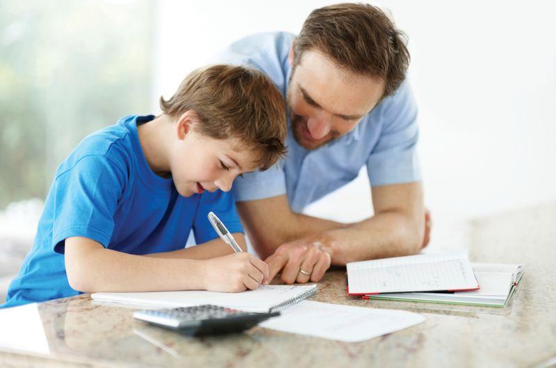 Father-son homework