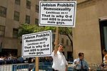 God gave AIDS to male gays to punish them Heshy Fried Friedman 2006