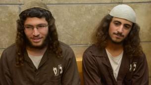 Yinon Reuveni (right) and Yehuda Asraf (left)