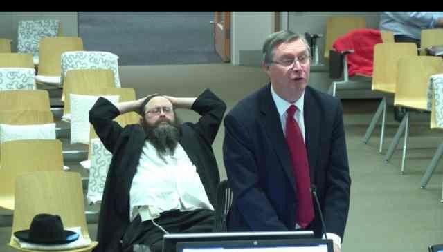Rabbi Yosef Yossi Feldman at Royal Commission 9-17-2015