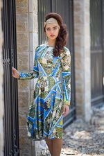 Bracha Benhaim design dress 10-2015