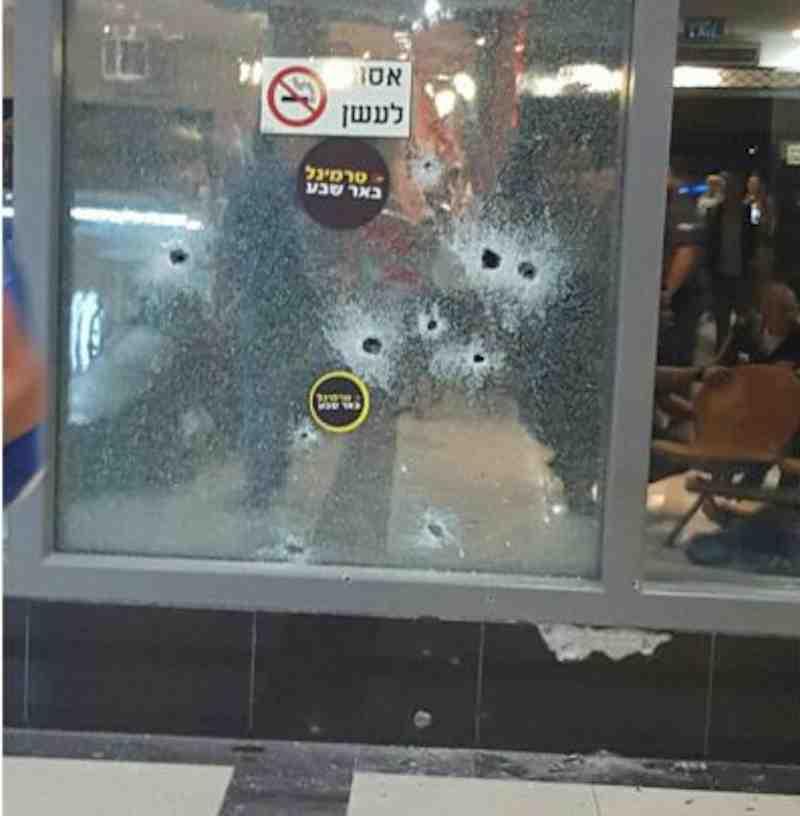 Beersheva terror attack 10-18-2015