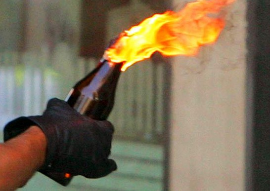 Molotov-fire-bomb