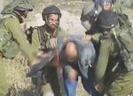 Nahal Haredi soldier hitting unarmed Palestinian man with his rifle 6-12-2015
