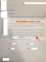 Yeshiva of Far Rockaway parents' letter 1-8-2016 annotated