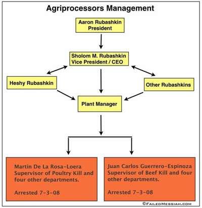 Agriprocessors Management Chart 3
