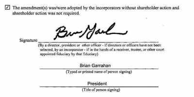 Brian Garrahan Amendment Signature-1