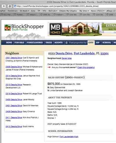 Joseph And Linda Garrahan Home Sale