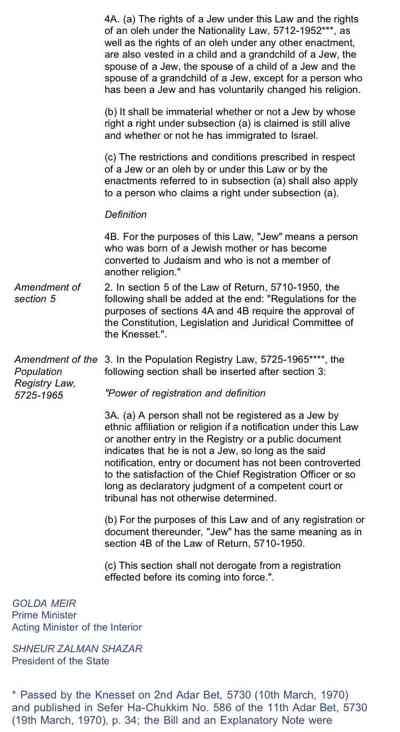 Law Of Return 3