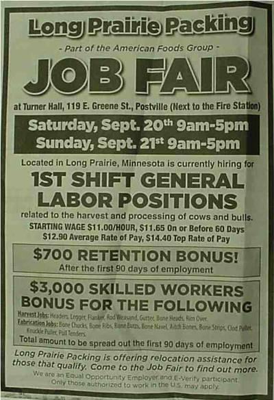 Postville Job Fair Low Res