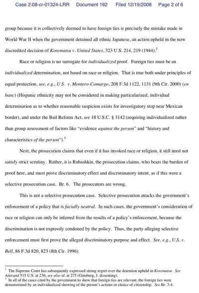 Rubashkin Reply 12-19 2