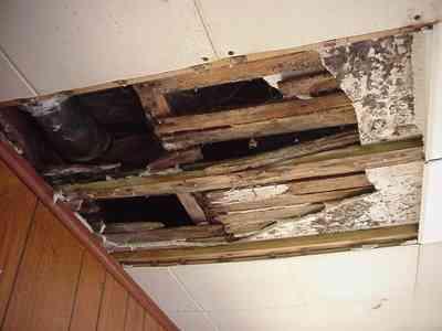 Sewer Pipe Over Door Leak-4