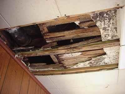 Sewer Pipe Over Door Leak