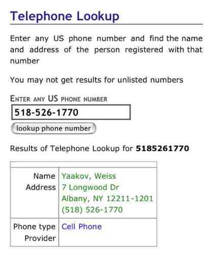 Weiss Chabad Of Colonie Reverse Phone Search-1