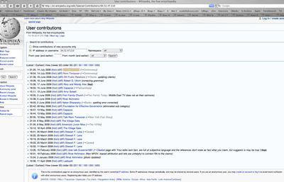 Wikipedia 5Wpr Sockpuppeting