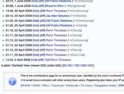 Wikipedia User Cobntributions Ip 207.237.137.37 (B)