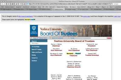Yu Board Of Trustees (Google Cache)
