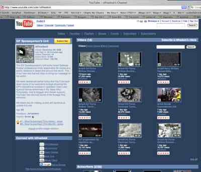 Youtube Idf Channel Home